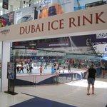 Dubai ice rink in Dubai mall