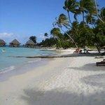 La plage de matira