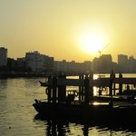 Sunrise over Dubai Creek
