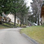 Chemin d'accès aux gites