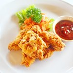 Tori karaage, japanese fried Chicken, oishii yo...