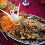 Ente Maothai nach Art des Hauses