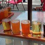Our beer flights