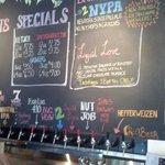 Inside Cortland beer company