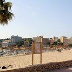 Der Nahgelegene, saubere Strand