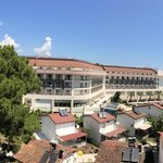 Panoramic view from our room (1307)