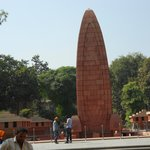 Inside view of Jallianwala Bagh