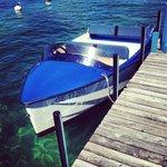 Petit bateau pour une ballade lac Léman
