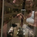 The inside of the hotel +  (selfie)* ^_^