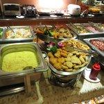 wide range of food