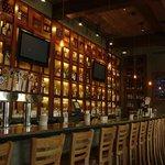 Spacious bar.