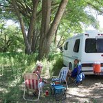 CAMPING ON THE ANIMAS RIVER, RUINS RD RV PARK
