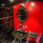 salle de bain loft talon aiguille