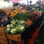 Farm-fresh vegetables