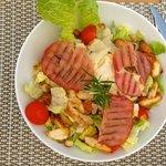 La salade César.