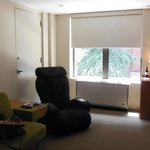 One bedroom suite - 'lounge' area with massage chair