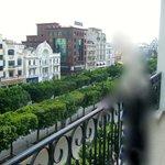 Panorama depuis le balcon.