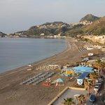uitzicht vanaf dak richting zuid (Taormina)