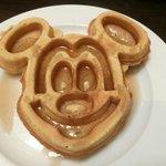 Mickey Waffle (Breakfast Buffet)
