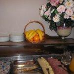 fruits (petit déjeuner)