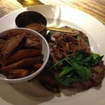 Steak & Twice cooked chips