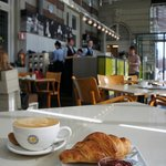 The Concertgebouw Café is open from 8:00 in the morning and is perfect for breakfast!