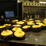 Sea urchin pintxos