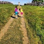 #TripleA on the Sunken Road at the Antietam National Battlefield.