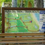 Plan du petit Train