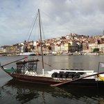 Vista da zona ribeirinha - Porto