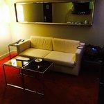 Twin suite studio room living area