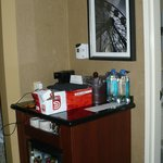 The minibar in Room 1515.