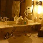 Vanity in bathroom of Room 1515