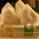 Complimentary Gilchrist & Soames toiletries