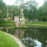 пруд Михайловского  сада