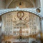 Retablo del altar mayor / Iglesia San Nicolás (Burgos)