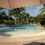The pool at the plantation