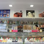 All the gelato bar