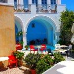 Esterno ristorante e piscina