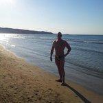 In spiaggia...