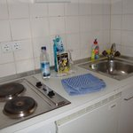 The kitchenette I never used