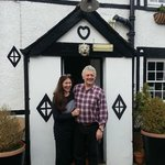 Fiona and Tim at the Lion Inn