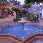 Le casette che compongono il piccolo villaggio andaluso dell'Hotel