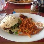 The Jumbo Fish Burger