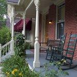Porch of Brickhouse Inn
