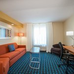 King Suites - separate living room area