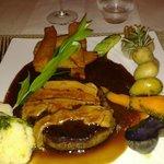 Filet de Boeuf au foie gras poélé