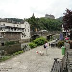 The beautiful river, the castle, the reflections and the cafes