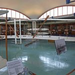 Visitor Centre with full size copy of the aircraft
