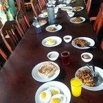 Average breakfast